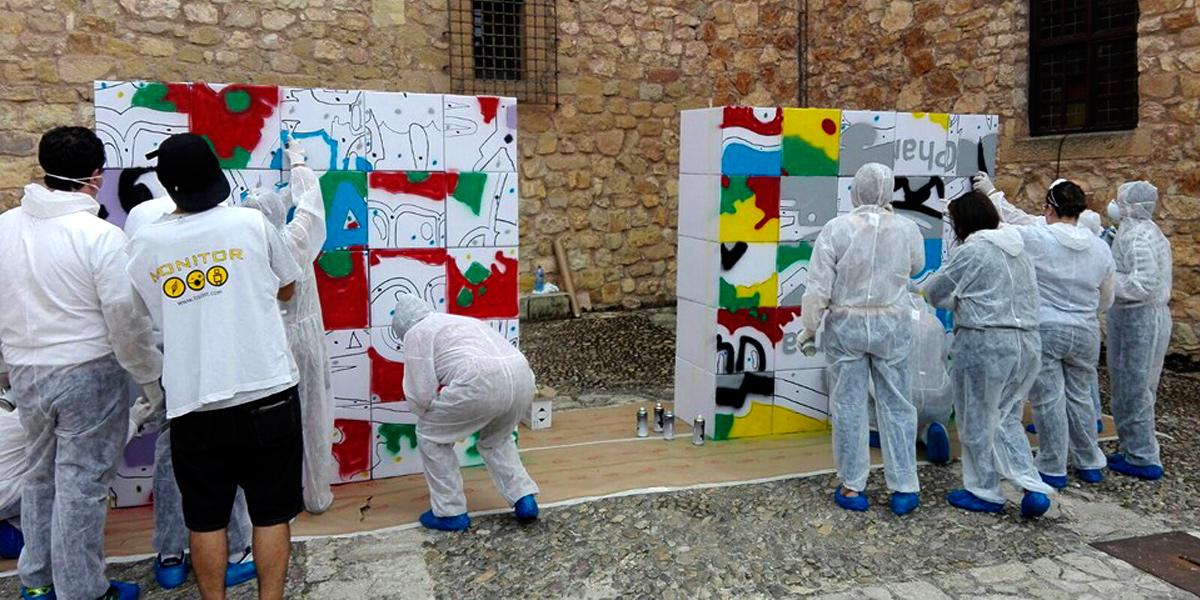 Divertidos talleres de graffiti