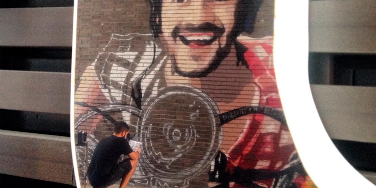 Grafitero profesional de Madrid