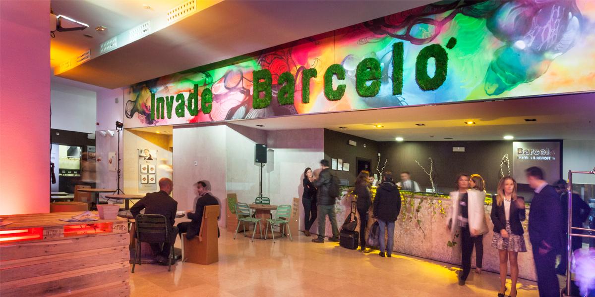 Evento Invade Barceló