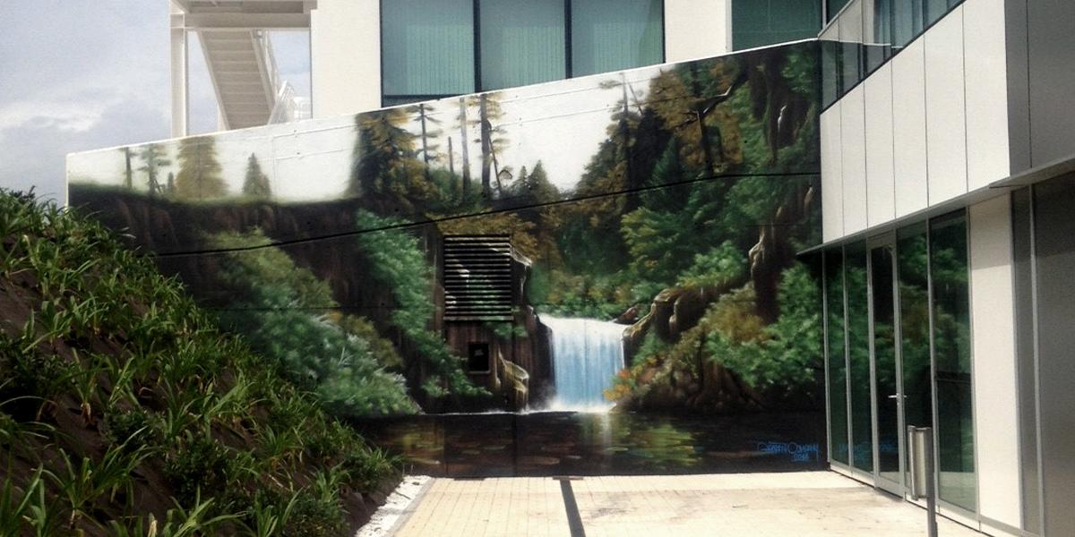 Graffiti profesional en Gijón