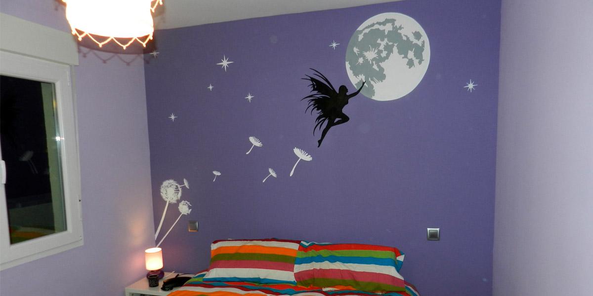 Graffiti de cabecero de cama